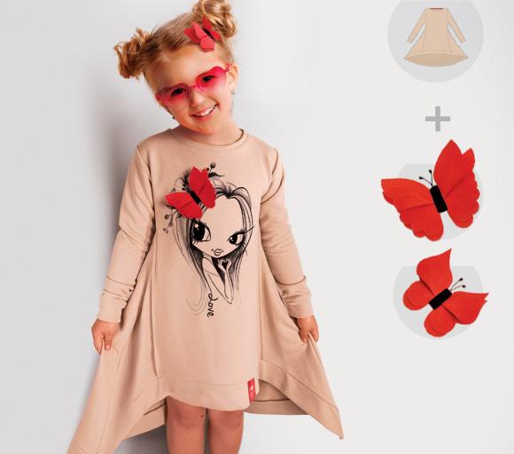 Платье-свитшот Look