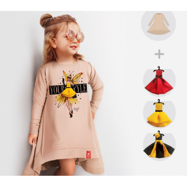 Платье-свитшот Butterfly