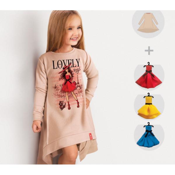 Платье-свитшот Paris