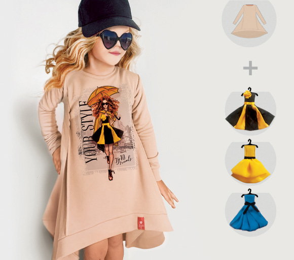Платье-свитшот Rain